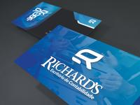 Identidade Visual 4 - Escritório Richards