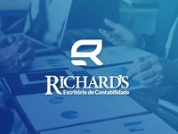 Identidade Visual 1- Escritório de Contabilidade Richard's