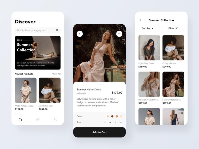 Fashion Online Shopping — Mobile App
