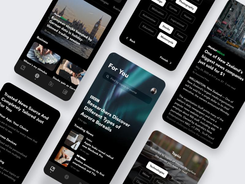 News Reader — Mobile App