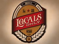 Beer Concept label