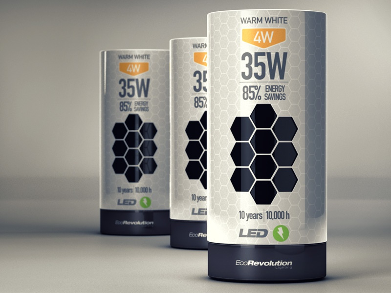 Light Bulb Packaging by Guillermo Herrera
