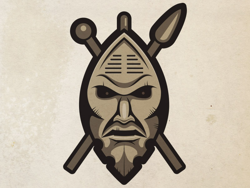 Zulu Shield by Guillermo Herrera on Dribbble
