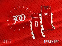 2017 NBA Allstar DJ Jerseys - 300 Entertainment
