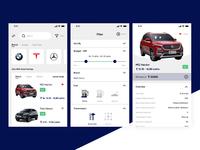 Car Marketplace Concept UI
