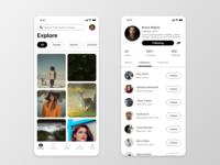 Photographer Based App Designs