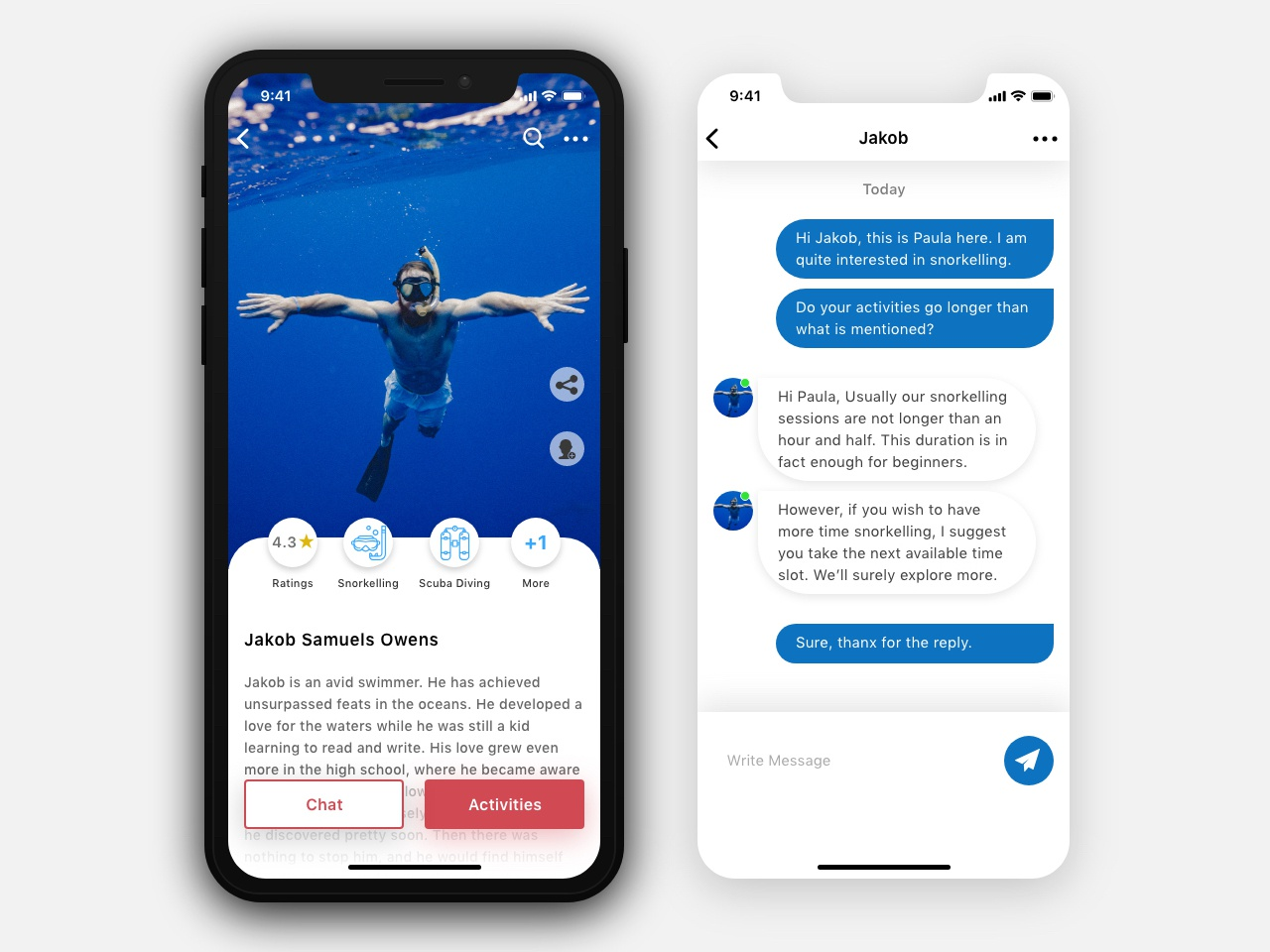 Aim Astra   Mentors Screens (Single Mentor) chat mentors app adventure design ios ux  ui