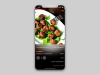 Hungry Z   Food Ordering App Concept