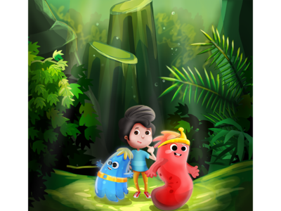 lovely children of the forest