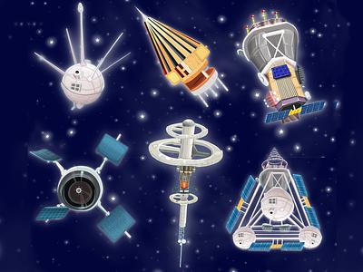 space satellite logo game ux gameart design game animation drawing ink digitaldrawing digitalpen animation drawing digitaldraw typography vector digital painting digitalart illustration designer digital art