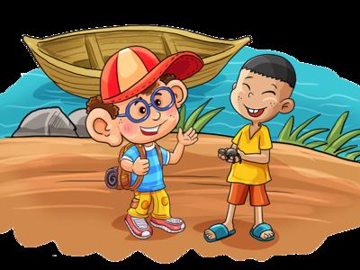children traveler