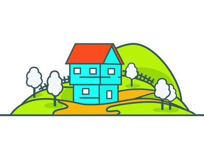 farm house minimal design