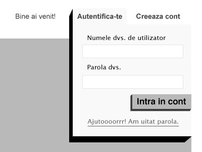 eShop Wireframe – Login area  button wireframe login modal account user