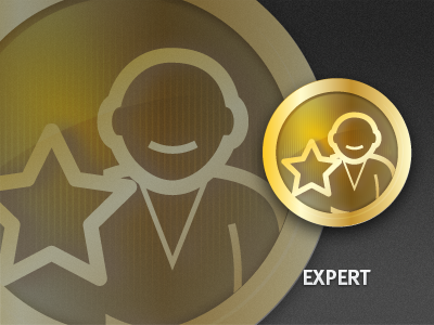 Expert Badge icon icons set badge ui reward app phone