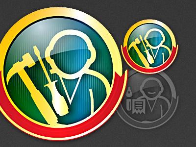 Master Badges icon icons iconset app mobile phone badge