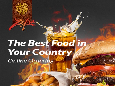 Zefra Restaurante Website Design ui web design