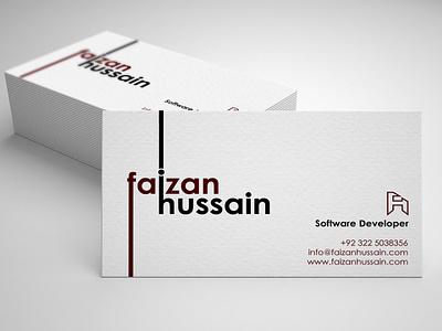 Personal Visiting Card developer businesscard visitingcard