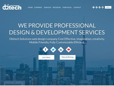 Business Website Design business branding web ui design