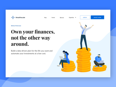 Wealth Management Homepage - Finance