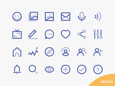 Free Vector Icons from Roovie Project