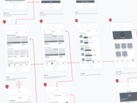 Wireframe for Roovie