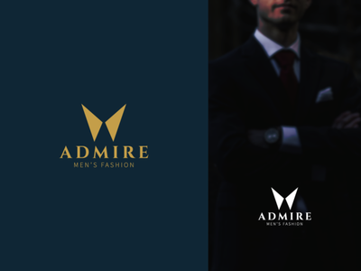 ADMIRE creative  design minimal logo branding graphic design