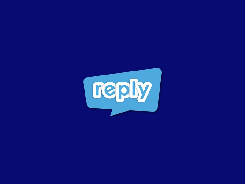 reply - messaging app logo