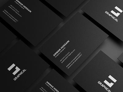 Business Card sleek clean design design identity icon creative  design logo minimal graphic design business card branding