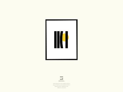 Minimal Illustration : Moon and The Window curtain icon identity illustration graphic design creative  design logo minimal branding