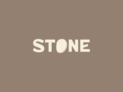 STONE minimal logo stone icon identity graphic design creative  design minimal logo branding