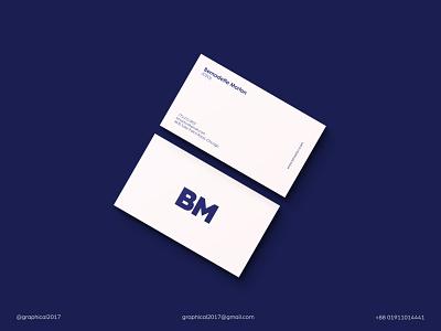 Minimal Business Card business card minimal business card sleek business card sleek clean business card icon identity graphic design creative  design minimal logo branding