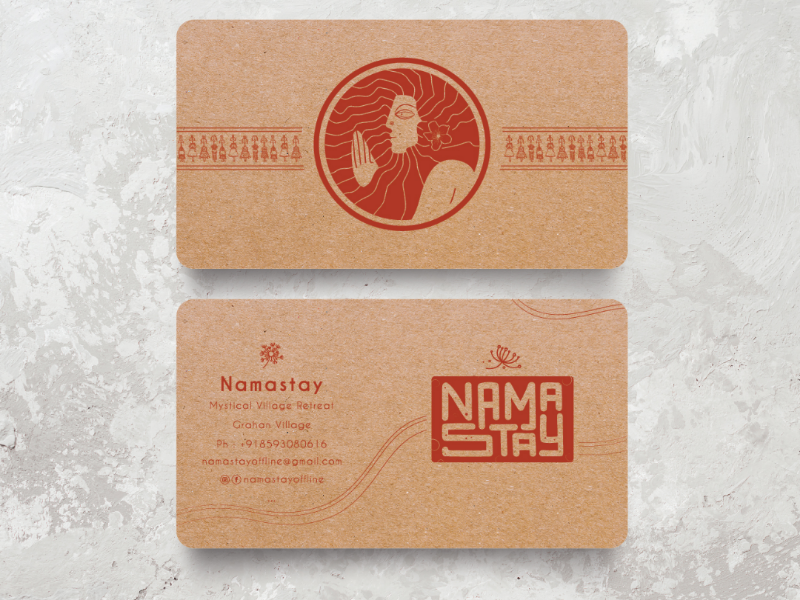 Namastay resorts branding