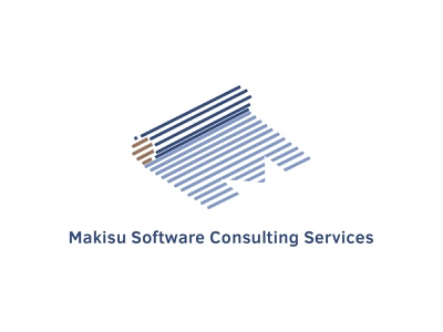 Makisu Dribbble feedbackplease software company logo branding fresh clean minimal simple design