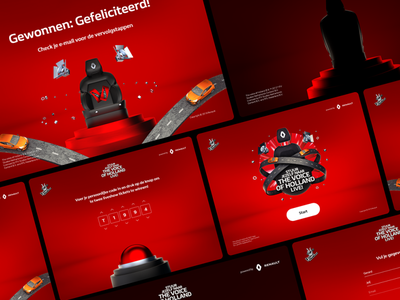 Renault x TVOH - Interactive Installation redesign identity branding identity logo 3d c4d illustration colorful show liveshow thevoice renault car auto red road chair artwork campaign clio