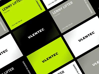 Vlentec brand identity colorful brand identity branding design posts social halftone vibrant movement lift lifting stationary businesscard business engineered engineering