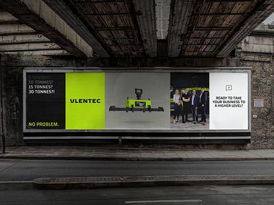 Vlentec posters poster design technological engineered engineering industrial vibrant halftone 3d mockup billboard poster vector illustration typography brand logo identity branding design