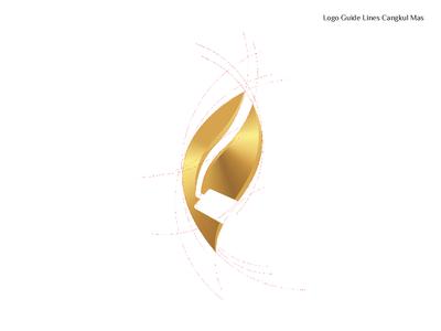 Cangkul Mas Logo Guide line