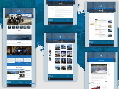 OCRV Websites development
