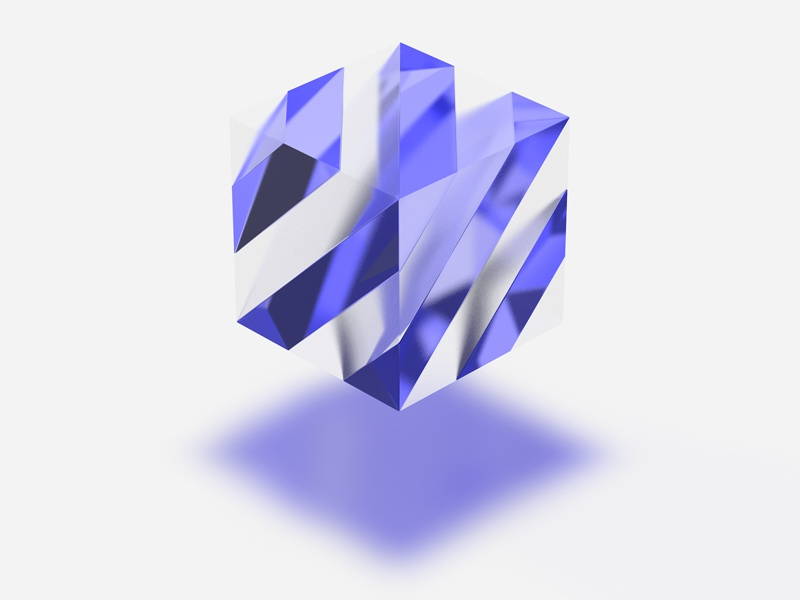 Transformation of Logo identity design c4d 3d logo