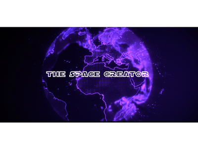 Intro for Vimeo channel adobe motion graphics motion hologram planet space after effects animation hud sci-fi intro vimeo