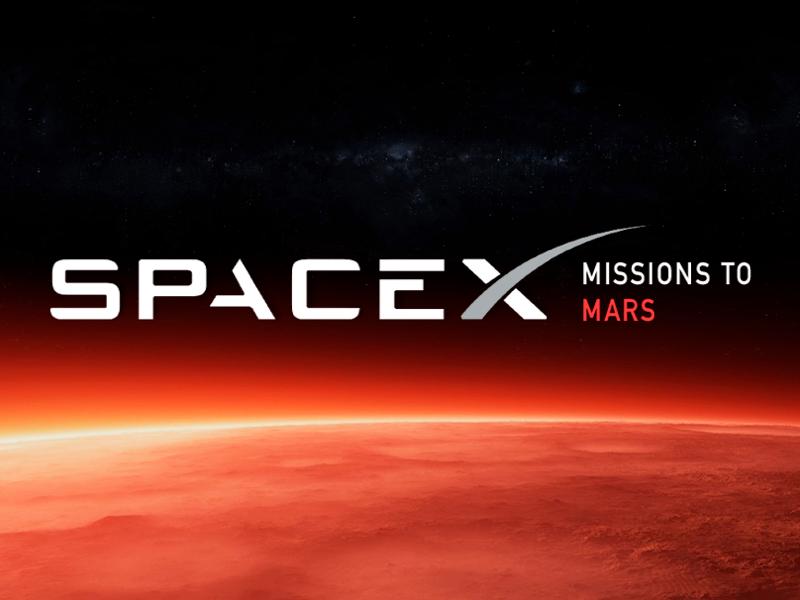 SpaceX missions to Mars by Julia Vasilevskaya on Dribbble