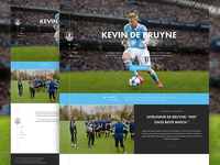 Football Cup landing design web football webdesign