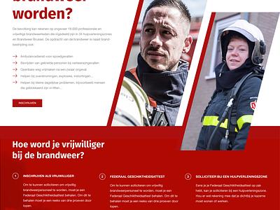 Civil Security Pitch civil security belgium campaign recruitement fire firefighters