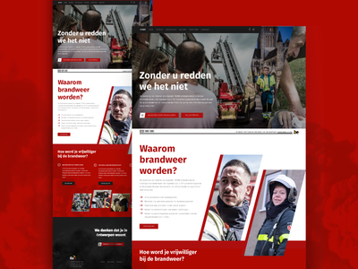 Civil Security Pitch civil security belgium campaign recruitement fire firefighters