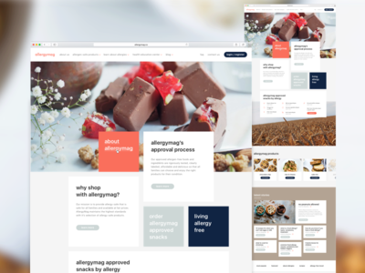 Platform for allergen-free food concept design web ui platform food