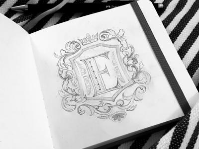 Letters Marathon 2019/ Letter E (sketch)