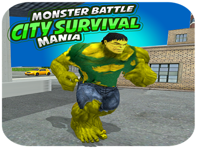 Monster Battle City Survival Mania