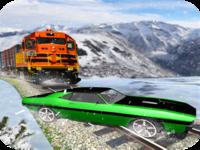 Train Vs Car: Speedy Race