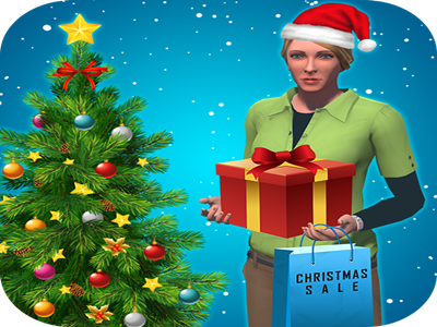 Christmas Shopping Simulator.Christmas Shopping Fun By Tony Grant On Dribbble