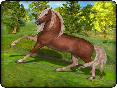 Virtual Horse Family Wild Adventure game android tactics archers quest predator wolf jungle lions clan survival traveling gallop adventure wild family horse virtual